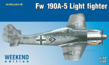 Eduard 7439 Fw 190A-5 Light Fighter (2 cannons) 1/72